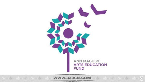 Ann-Maguire 艺术教育基金会 新标志 logo 创意
