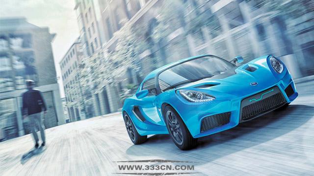 底特律 电动汽车 全新品牌 LOGO 标识设计