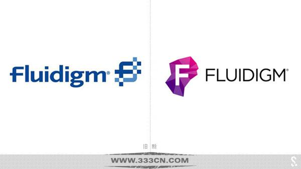 美国 富鲁达 Fluidigm公司 全新品牌 标志