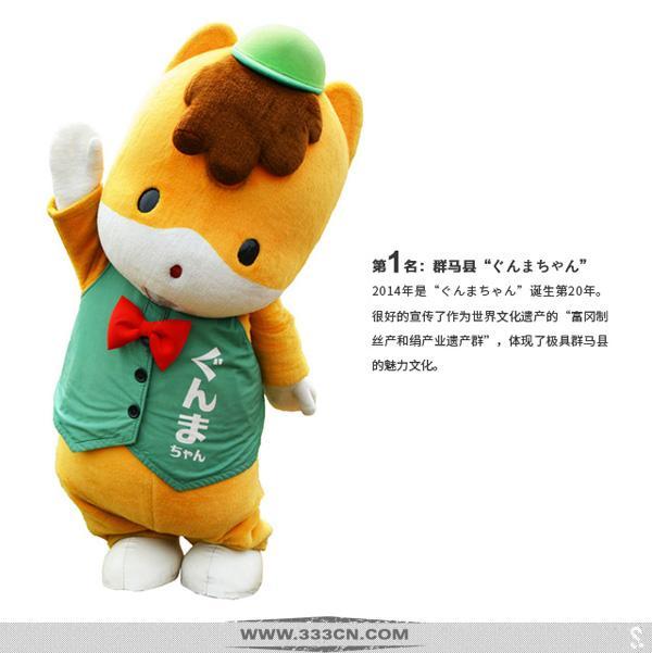 日本爱知县 常滑市 中部国际机场 2014吉祥物 大奖赛冠军