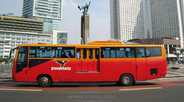 雅加达 快捷巴士 TransJakarta 新LOGO 标识