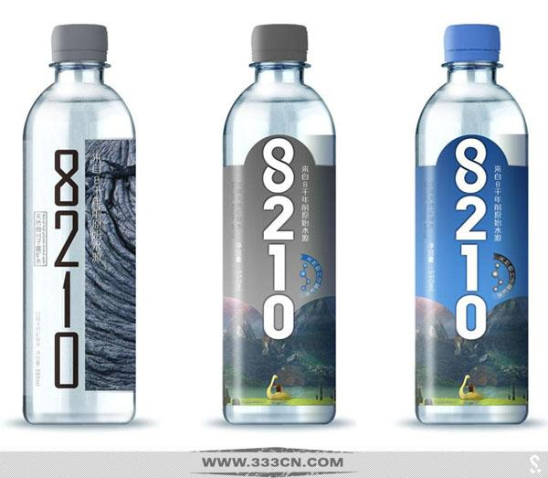 全新矿泉水品牌 矿泉水8210 矿泉水品牌标志 矿泉水包装