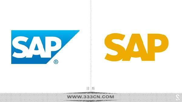 企业应用软件 供应商 SAP 新标志 logo