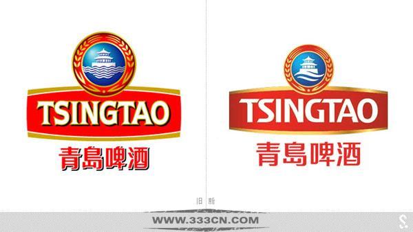 青岛啤酒 新LOGO 更新品牌 包装形象 标识设计