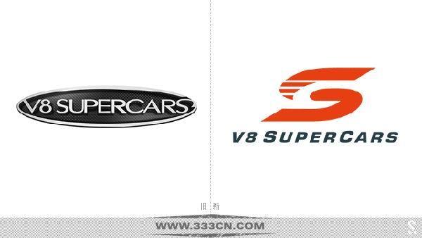 澳大利亚 V8超级房车赛 新形象 logo 品牌形象