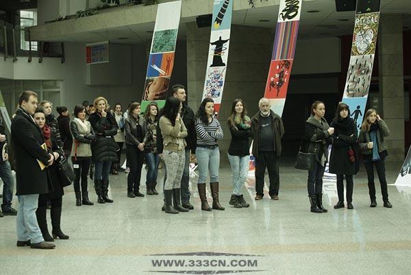 第六届 塞尔维亚 国际大学生 海报双年展 获奖作品