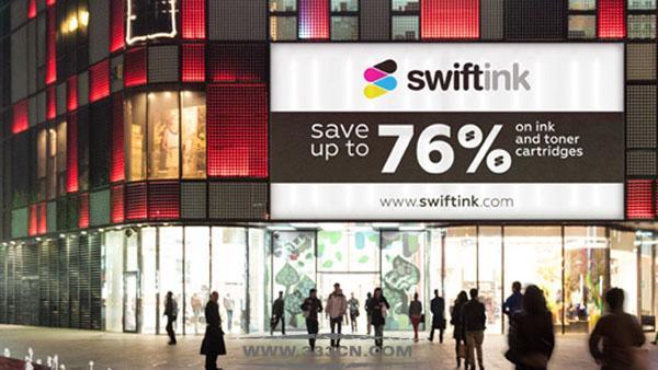 美国 打印耗材 零售商 Swift-Ink 新形象