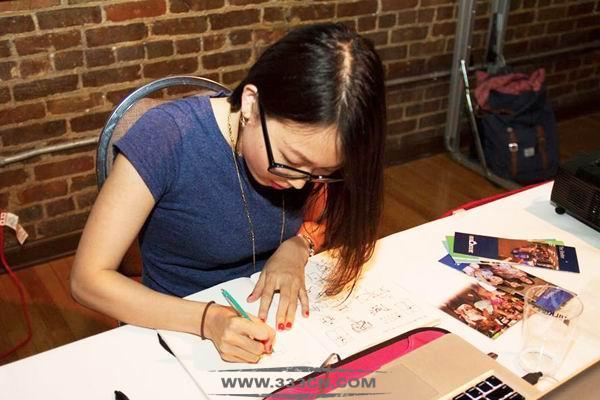 东西之间 念与实践 视觉设计师 曾俐 中国设计之窗