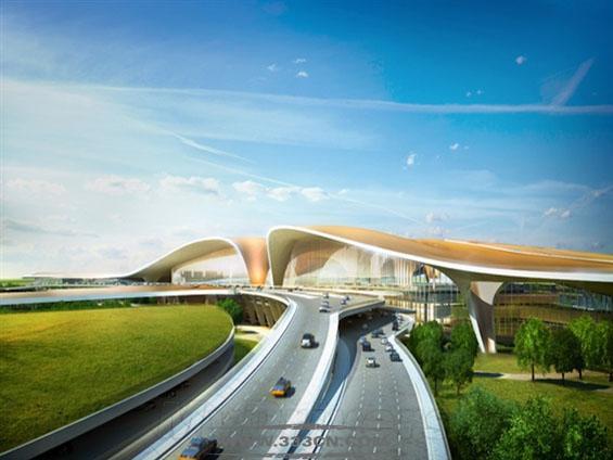 扎哈・哈迪德 北京新机场 T1航站楼 设计方案 巴黎机场集团