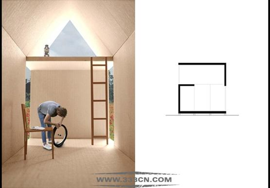 邓迪大学 法国 自行车木屋 竞争 邓迪建筑学院