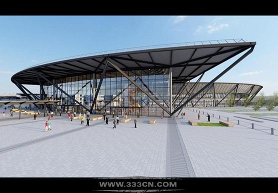罗杰斯 设计 里昂机场 航站楼开工 圣埃克絮佩里机 未来1号航站