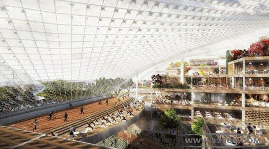 硅谷总部 谷歌 可移动建筑 托马斯・希瑟威克 比亚克・英格尔斯