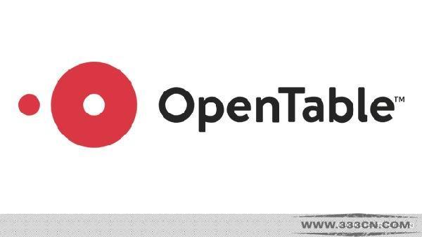 美国 网上订餐平台 OpenTable 新LOGO 标识