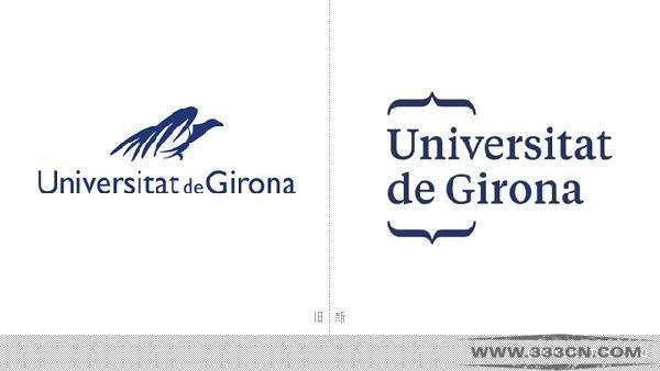 西班牙 赫罗纳大学 新LOGO 字体 标识