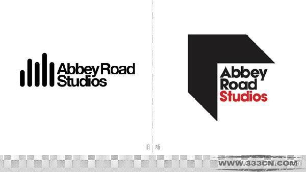 伦敦阿比路 Abbey 录音室 新LOGO 标识设计