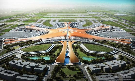 扎哈-哈迪德 英国建筑 北京 大兴机场 设计方案