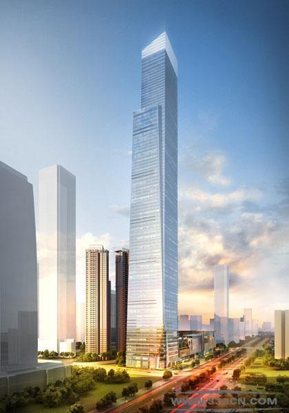 GP 设计 445米 南宁 华润中心大厦