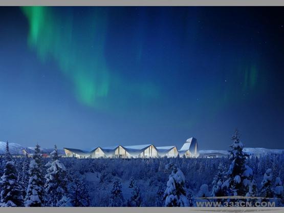 Haptic Nordic 挪威机场 设计 格雷姆肖