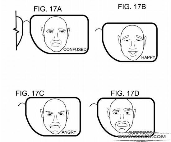 微软 新眼镜 专利 可检测 佩戴者情绪 商标局