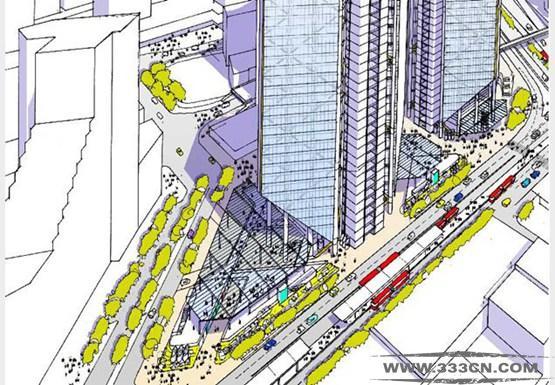 罗杰斯 哥伦比亚 设计 268米大厦 波哥大市