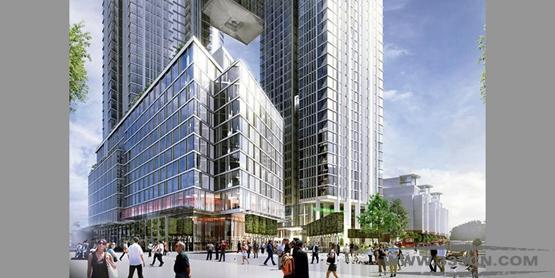中国建筑 伦敦 建设高楼 9榆树区一号 中国建筑工程公司