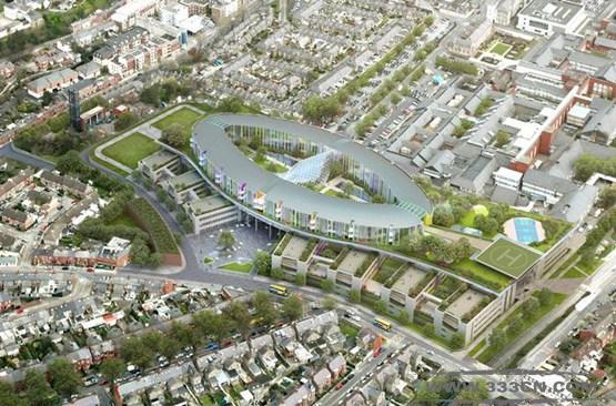 BDP 爱尔兰 设计 儿童医院 Stantec建筑