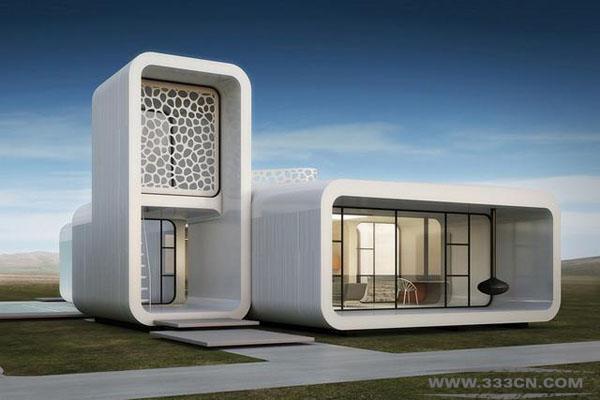 迪拜 3D打印 技术建造 商业建筑 阿联酋
