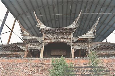 传统古建筑 异地迁建 山西 徽派建筑 木雕