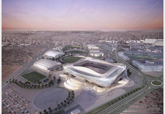图案设计公司 艾雷恩体育场 卡塔尔 2022年 足球世界杯