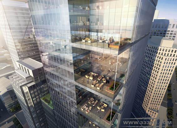 GP 旧金山 办公楼项目 地标性建筑 公园大厦