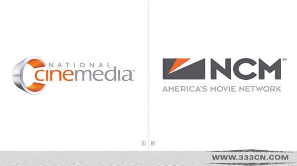 美国 最大影院 广告媒体公司 NCM 新LOGO