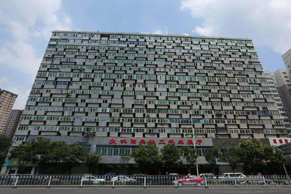 沈阳 奇葩建筑 阳台大楼 300阳台 脸贴脸