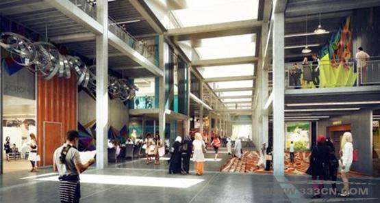 福斯特 迪拜 设计区 总体规划 肖尔迪奇区