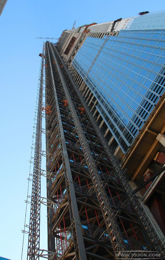 天津 117大厦项目 全球通道塔 高度之最