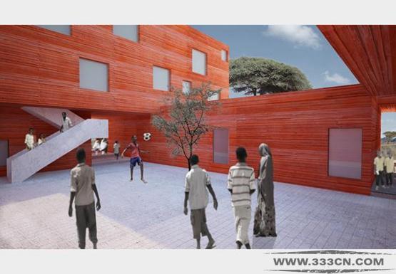 RA-Projects 索马里 设计 学校 谢赫镇