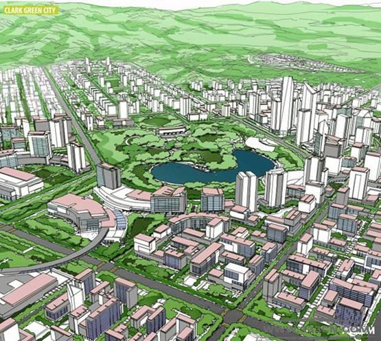 克拉克绿色城 经济适用房 菲律宾 总体规划 AECOM
