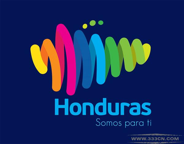 洪都拉斯 旅游推广 LOGO 创意 设计