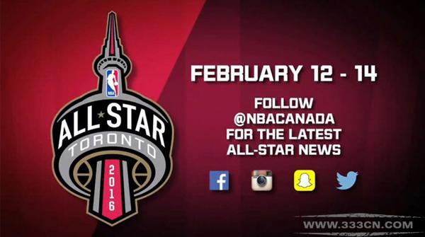 2016年 NBA 全明星赛 标志 logo