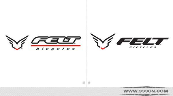美国 自行车品牌 FELT 更换 新LOGO