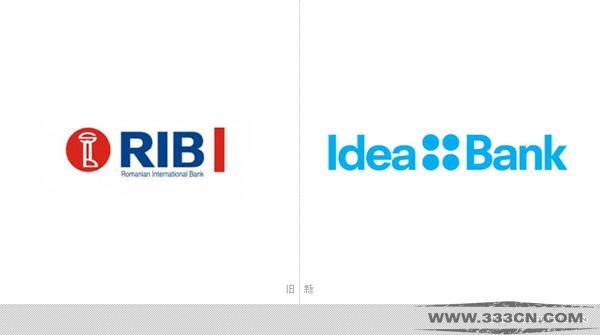 罗马尼亚 全新银行 Idea-Bank 新形象 logo