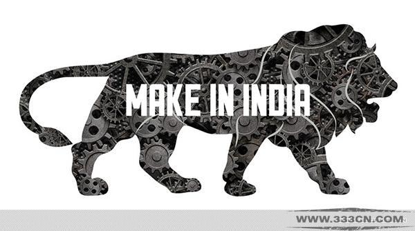 印度制造 标识 抄袭 印方 主题标识