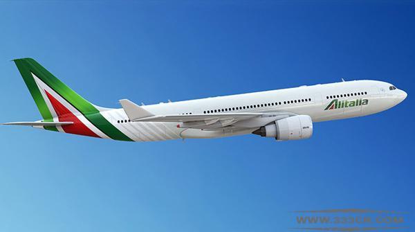 意大利航空 Alitalia 全新LOGO 涂装 logo设计