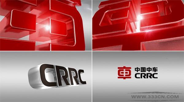 中国中车 CRRC LOGO 标识 标识设计