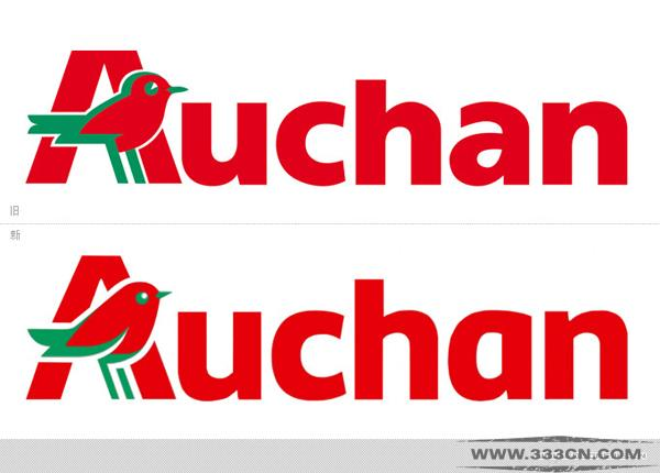 大型跨国 商业集团 欧尚 Auchan LOGO