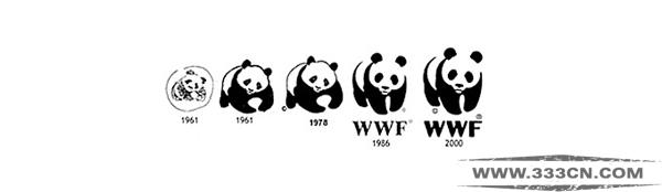 WWF 熊猫字体 保护熊猫 Ogilvy&Mather 熊猫基金会