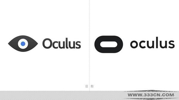 VR 虚拟现实 Oculus公司 新LOGO 设计