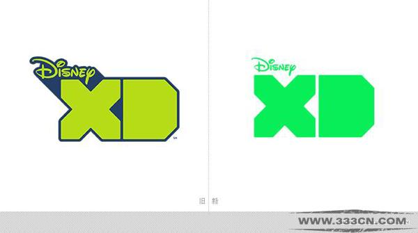 迪士尼XD(Disney XD)电视网启用新LOGO
