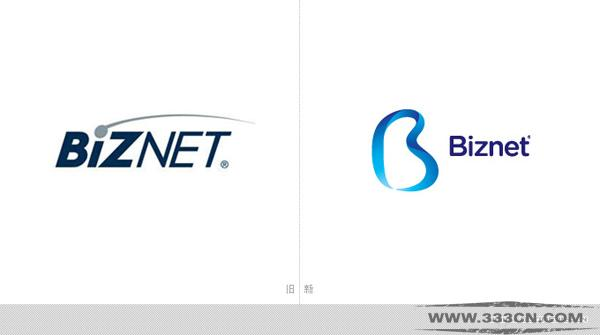 印度尼西亚 宽带运营商 Biznet 新LOGO 设计