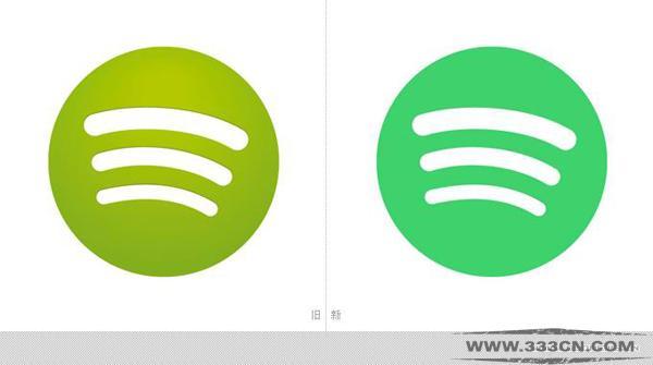 流媒体 音乐服务 Spotify 优化 LOGO颜色