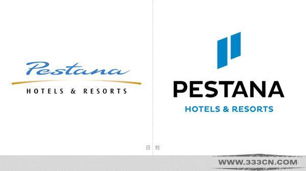 佩斯塔纳 酒店集团 新LOGO 创意 设计